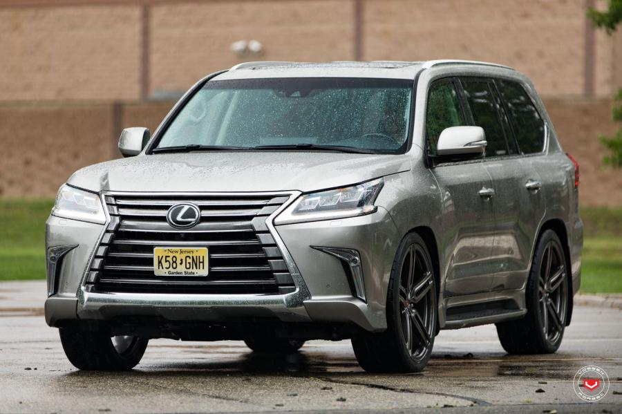 Lexus LX570 on Vossen Wheels (HC-1)