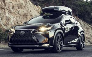 Lexus NX200t F-Sport on Vossen Wheels (VFS1) 2017 года