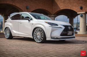 2017 Lexus NX200t on Vossen Wheels (VFS2)