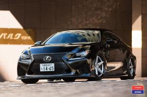 Lexus RC F Rocket Bunny by SR Auto Group on PUR Wheels (LX10.V3) 2015 года