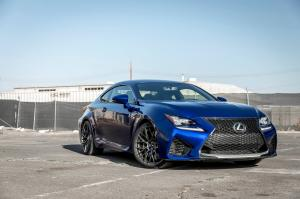 2017 Lexus RC F on Vorsteiner Wheels (V-FF 107)