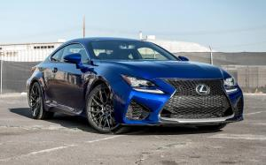 Lexus RC F on Vorsteiner Wheels (V-FF 107) 2017 года