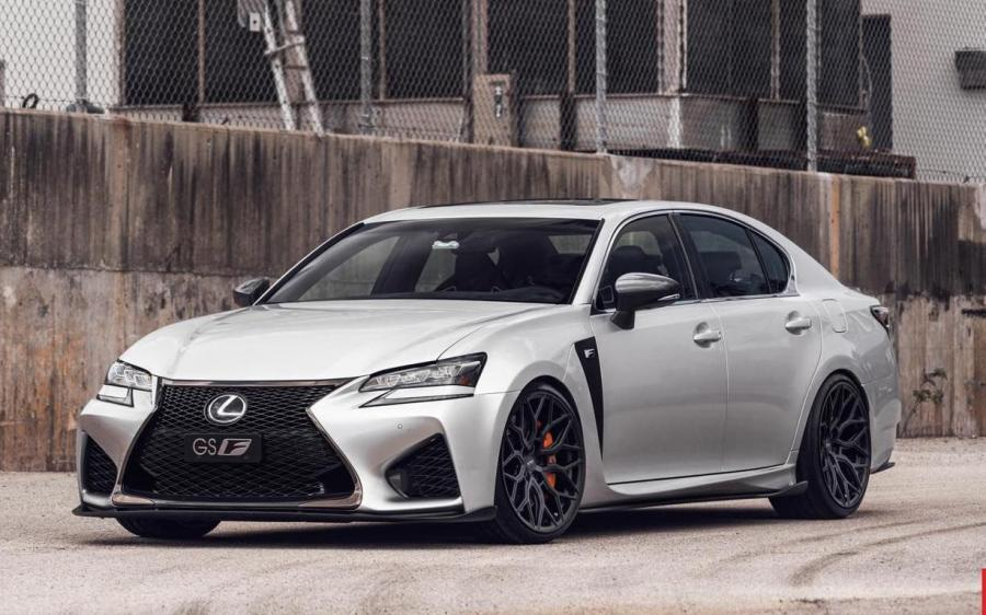 2018 Lexus GS F on Vossen Wheels (HF-2)
