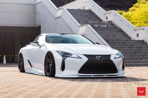 2018 Lexus LC500 Hybrid on Vossen Wheels (HF-1)