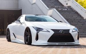 Lexus LC500 Hybrid on Vossen Wheels (HF-1) 2018 года (JP)