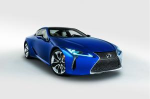 2018 Lexus LC500 Inspiration Series Structural Blue
