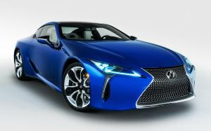 Lexus LC500 Inspiration Series (Structural Blue) 2018 года (NA)