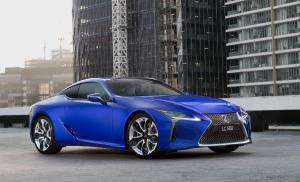 Lexus LC500 Morphic Blue Limited Edition 2018 года