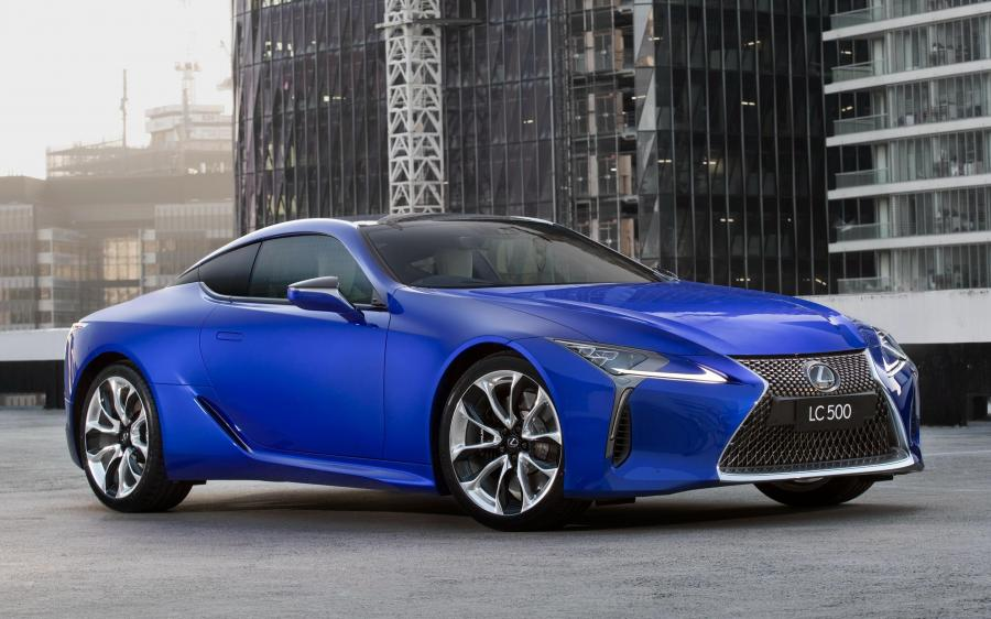 Lexus LC500 Morphic Blue Limited Edition