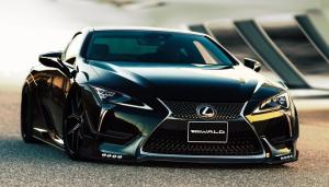 Lexus LC500 by WALD 2018 года