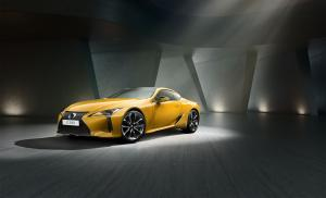 2018 Lexus LC500h Yellow Edition