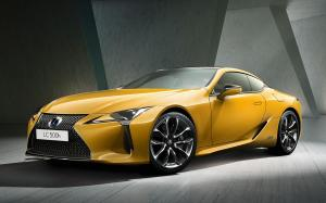 Lexus LC500h Yellow Edition 2018 года