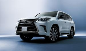 2018 Lexus LX570 Black Sequence
