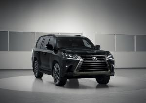 Lexus LX570 Inspiration Series 2018 года
