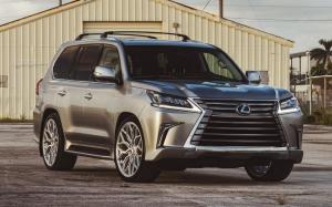 Lexus LX570 on Vossen Wheels (S17-01) 2018 года
