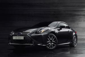 Lexus RC300h F-Sport Black Edition 2018 года (JP)