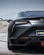 Lexus RC500 Satin Black by Impressive Wrap 2018 года
