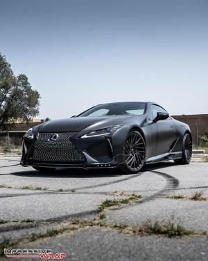 2018 Lexus RC500 Satin Black by Impressive Wrap
