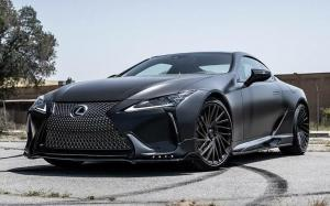 Lexus RC500 Satin Black by Impressive Wrap '2018