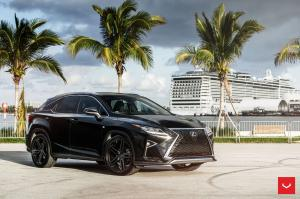 Lexus RX350 F-Sport on Vossen Wheels (HF-1) 2018 года