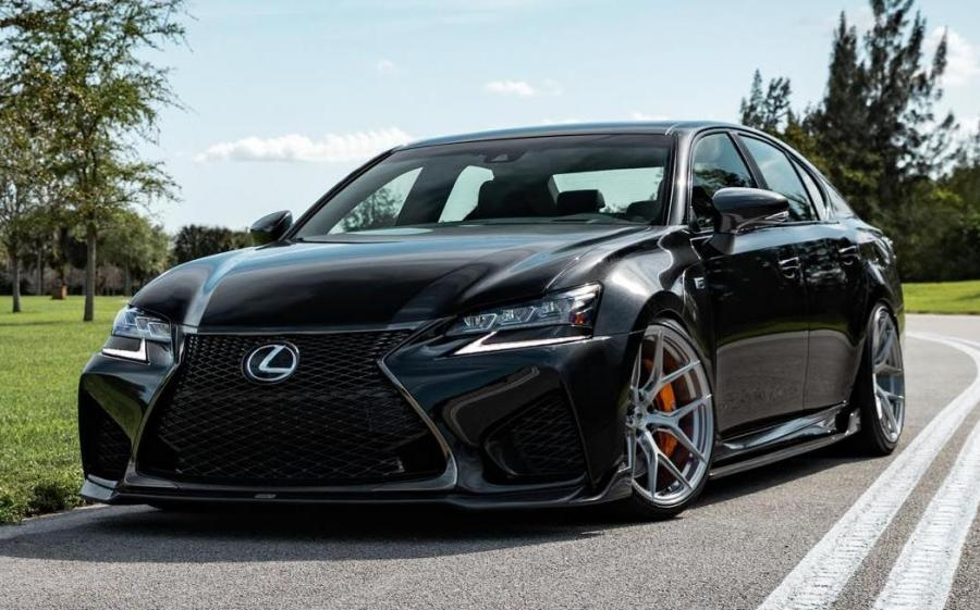 2019 Lexus GS F on Vossen Wheels (S21-01)