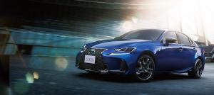 Lexus IS300h F-Sport I Blue 2019 года