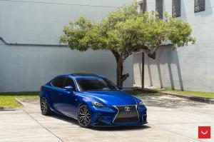 Lexus IS350 F-Sport on Vossen Wheels (HF-2) 2019 года