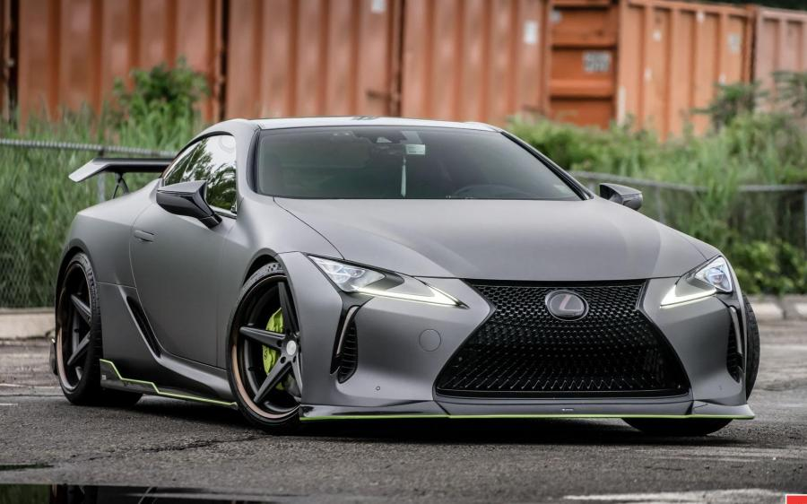 Lexus LC by TOM's on Vossen Wheels (VWS-3) '2019
