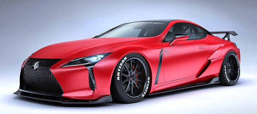 Lexus LC500 Infrared by Artisan Spirits '2019