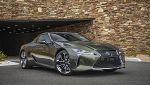 Lexus LC500 Inspiration Series 2019 года