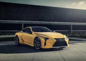 2019 Lexus LC500 Inspiration Series (Flare Yellow)