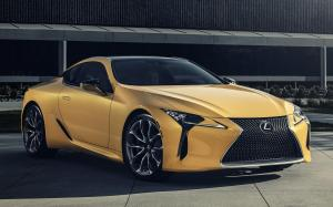 Lexus LC500 Inspiration Series (Flare Yellow) 2019 года (NA)