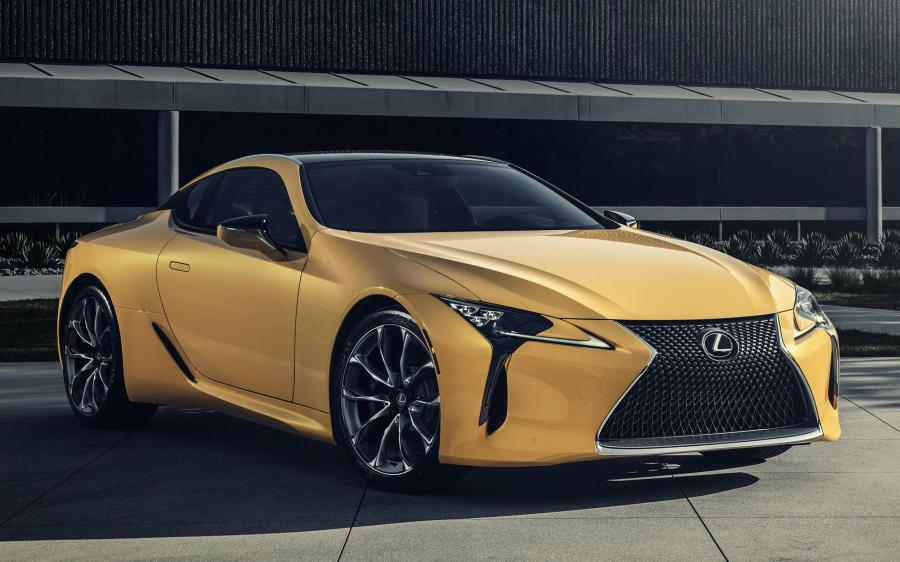 Lexus LC500 Inspiration Series (Flare Yellow) (NA) '2019