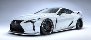 Lexus LC500 Liquid Platinum by Artisan Spirits 2019 года