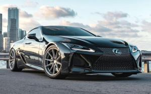 Lexus LC500 on Vossen Wheels (HF-3) 2019 года
