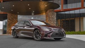 Lexus LS500 Inspiration Series 2019 года