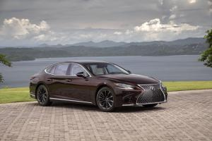 2019 Lexus LS500 Inspiration Series