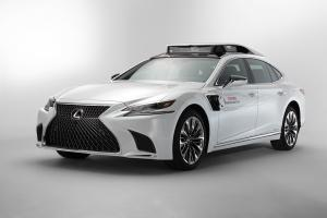 2019 Lexus LS500h TRI-P4 Research Vehicle
