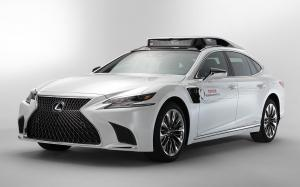 Lexus LS500h TRI-P4 Research Vehicle 2019 года