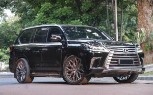 Lexus LX570 by Permaisuri on Vossen Wheels (HF-2) 2019 года