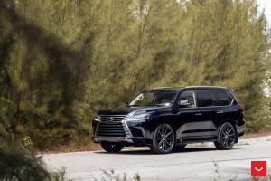 2019 Lexus LX570 by Prestige Imports on Vossen Wheels (HF-3)