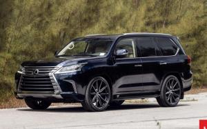 Lexus LX570 by Prestige Imports on Vossen Wheels (HF-3) 2019 года