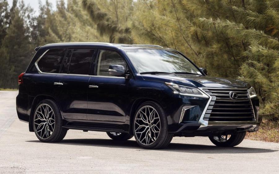 Lexus LX570 on Vossen Wheels (HF-3) '2019