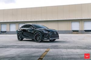 2019 Lexus NX300 F-Sport on Vossen Wheels (CVT)