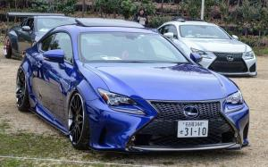 Lexus RC350 F-Sport on Forgiato Wheels (Maglia-ECL) 2019 года