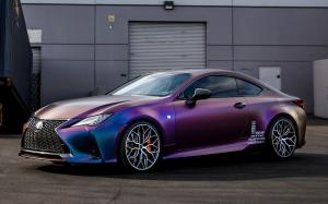 Lexus RC350 F-Sport on Vossen Wheels (HF-2) 2019 года