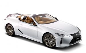 Lexus LC500 Convertible by TRD 2020 года (JP)