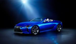 2020 Lexus LC500 Structural Blue Convertible