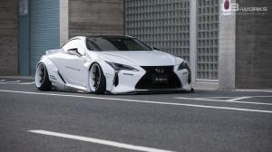 Lexus LC500 by Liberty Walk 2020 года