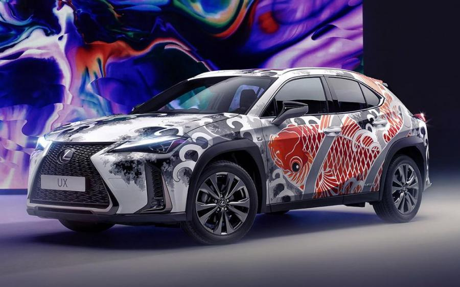 Lexus UX250h F-Sport Tattooed Art Car by Claudia De Sabe '2020